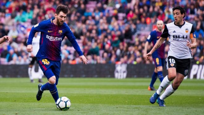 1abbe44dbaa Is Messi's blockchain interest a sign football is changing? - BBC News