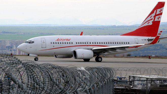 В России назвали условие возобновления авиаперевозок в Грузию