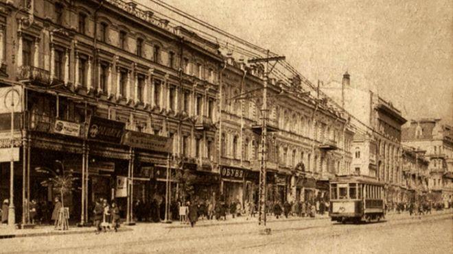 Таким побачили Хрещатик селяни 1932 року