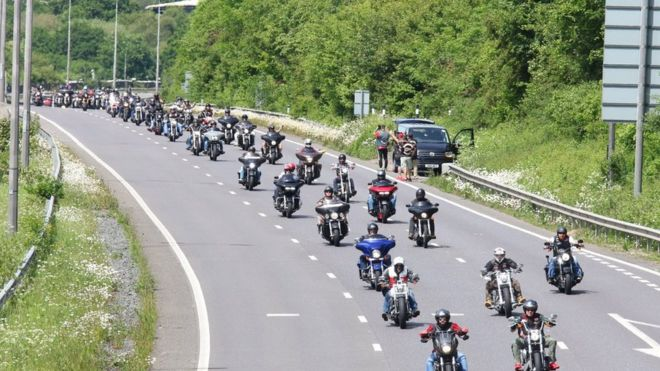 Hells Angels Euro Run: Thirty-four arrested at anniversary