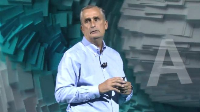 Intel chief executive Brian Krzanich