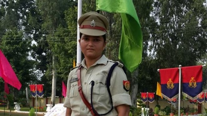 After spat with BJP leaders, UP policewoman transferred to Bahraich district