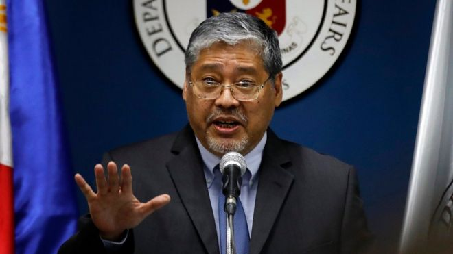 Quyền Ngoại trưởng Philippines Enrique Manalo