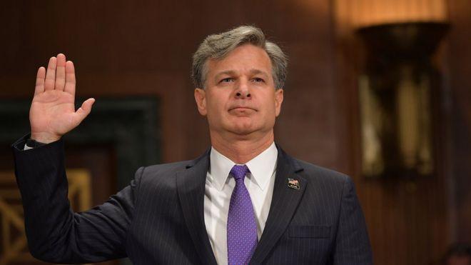 Картинки по запросу Назначен новый директор ФБР. Кто он и что говорил о России?