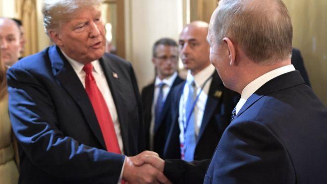 Trump Rusya'nın ABD seçimlerine müdahale ettiğini kabul etti