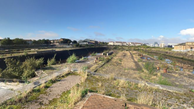 govan graving docks redevelopment rejected by planners bbc news