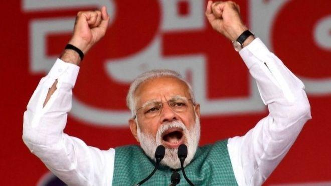 Ra'isal wsaaraha Indiya Narendra Modi