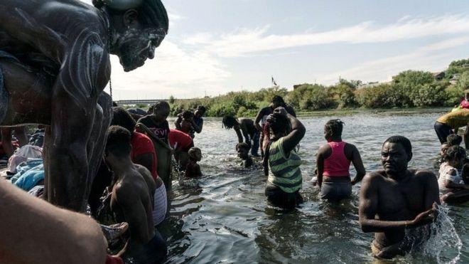 migrantes en Del Río