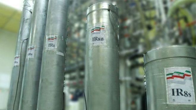 Tổ chức Năng lượng Nguyên tử của Iran đã tiết lộ các máy ly tâm tiên tiến tại cơ sở Natanz