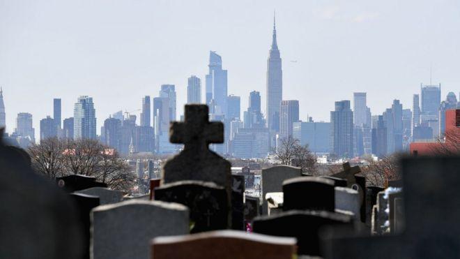Cementerio en Nueva York.
