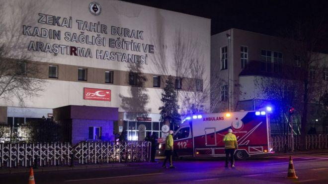Uhandan gətirilən 6 zərbaycanlı Ankarada xəstəxanaya yerləşdirilib