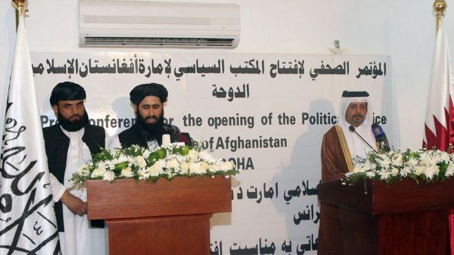 گروه طالبان دیدار با مقامهای آمریکایی در بگرام و دبی را رد کرد