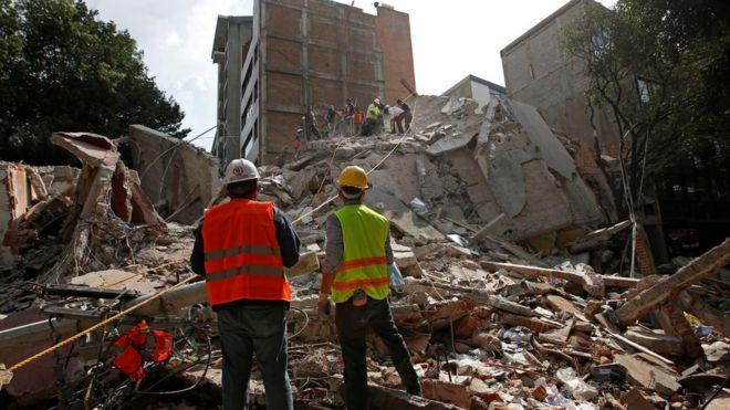 Terremoto en México en septiembre de 2017.