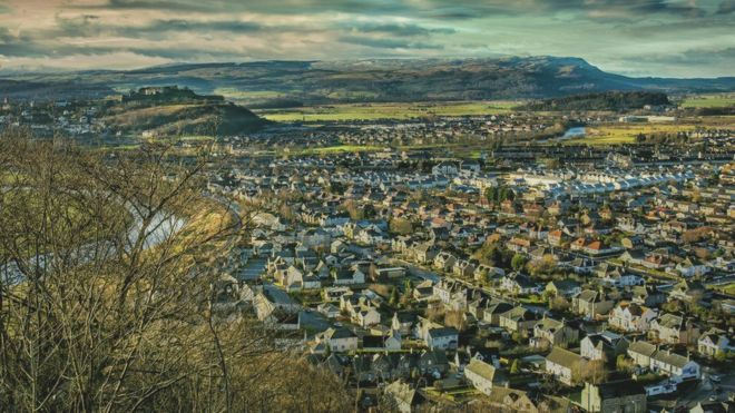 What on in stirling scotland