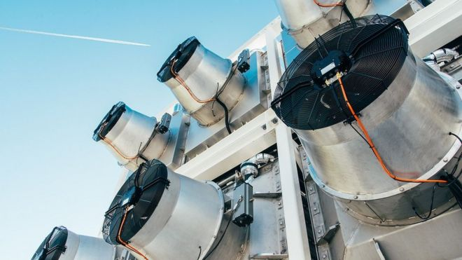 Tecnologia para captura direta do ar