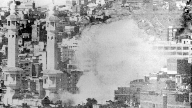 درگیری در مسجد الحرام بعد از آغاز گروگانگیری در ۲۹ آبان ۱۳۵۸