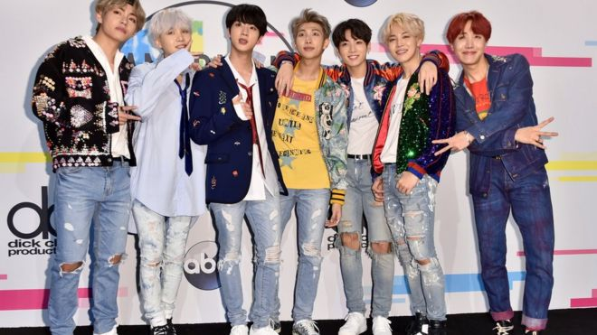 K Pop Superstars Bts Announce Uk Tour Dates Bbc News