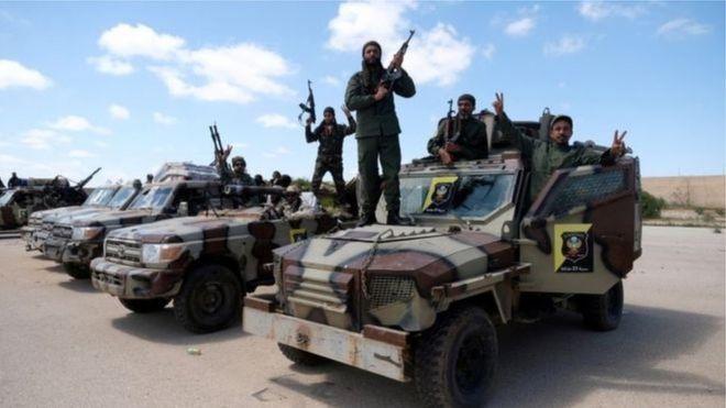 الجيش الوطني الليبي بقيادة خليفة حفتر