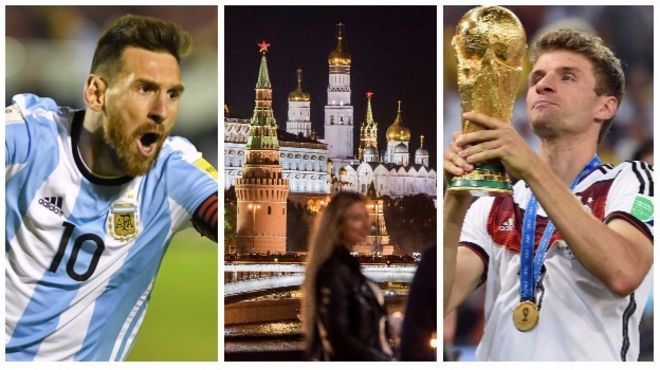 Lionel Messi, the Kremlin and Thomas Muller