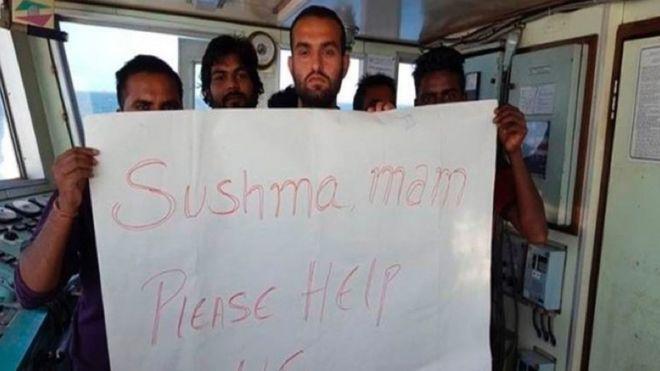 Sailors stranded off Dubai
