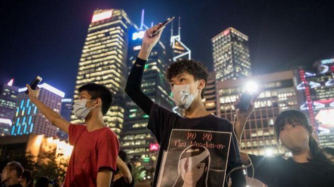 Hong Kong protests: YouTube shuts accounts over