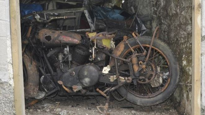 Historic Brough Motorcycles Discovered In Cornwall Barn