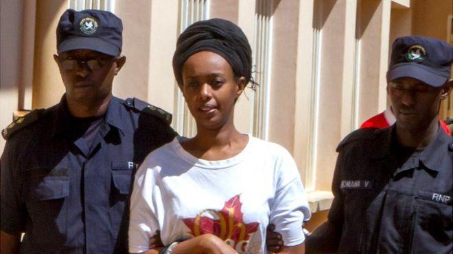 Diane Rwigara aregwa kubangamira umutekano w'igihugu