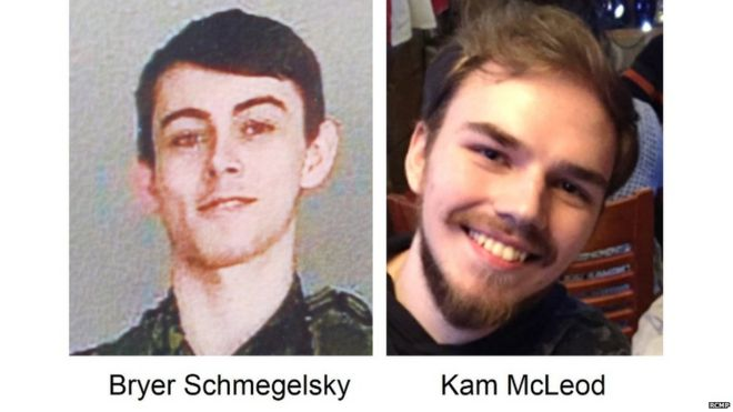 Canada killings: Police says teen suspects may be hiding in