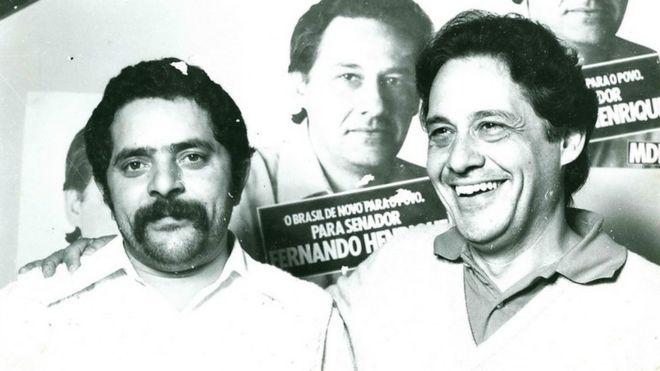 Lula e FHC em 1978
