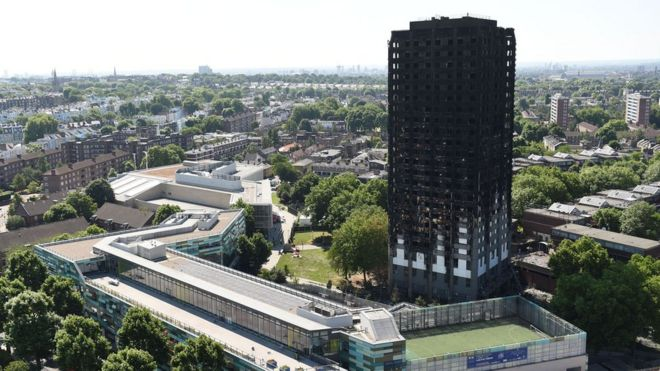 London Fire Grenfell Victims Not Being Forced To Move Away