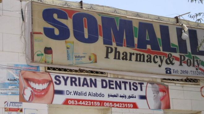 Aleppo dentist brings 'Hollywood smiles' to Somalis after fleeing