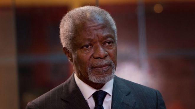 کوفی عنان، دبیرکل سابق سازمان ملل، درگذشت