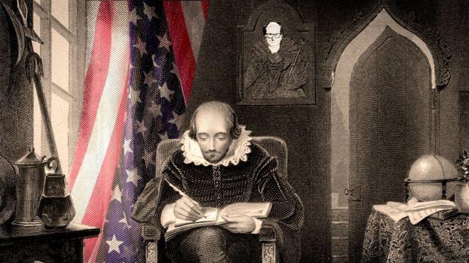 文史奇葩:莎士比亚如何与美国历史密不可分