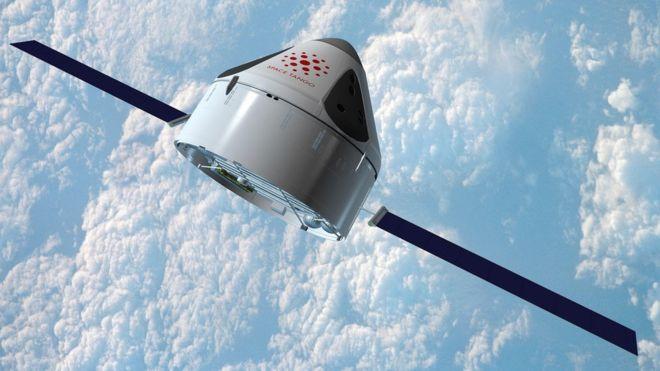 Графика мини-космической фабрики ST-42 Space Tango
