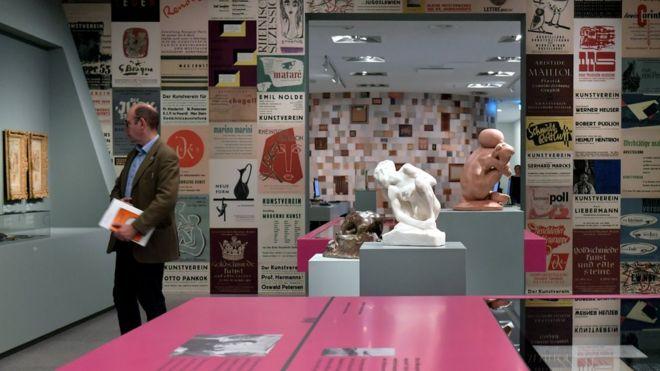 Esculturas de la colección Gurlitt.