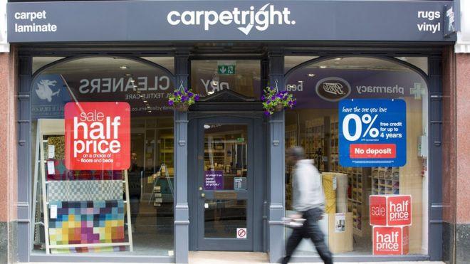 Carpetright store