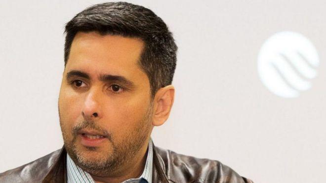 رائد الأعمال البرازيلي فلافيو أوغوستو دا سيلفا