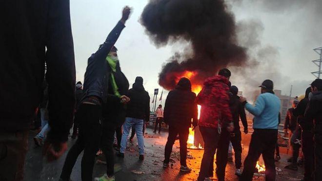 اعتراض های ایران
