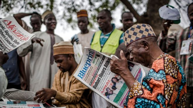 Latest news in nigeria election result