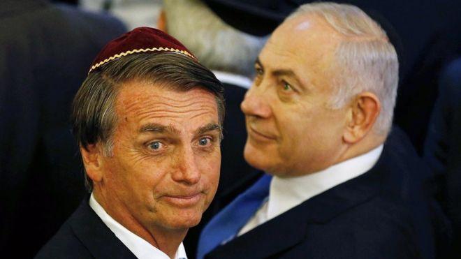 Bolsonaro e Netanyahu