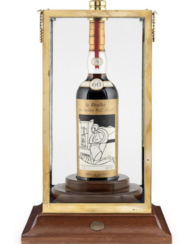 Most Expensive Scotch In The World >> World S Most Expensive Whisky Up For Sale In Edinburgh Bbc News