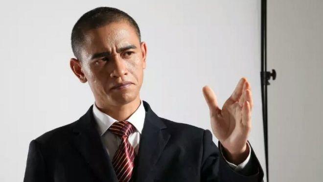 China's Obama impersonator