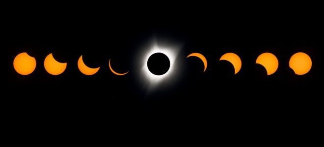 Image result for solar eclipse 2017