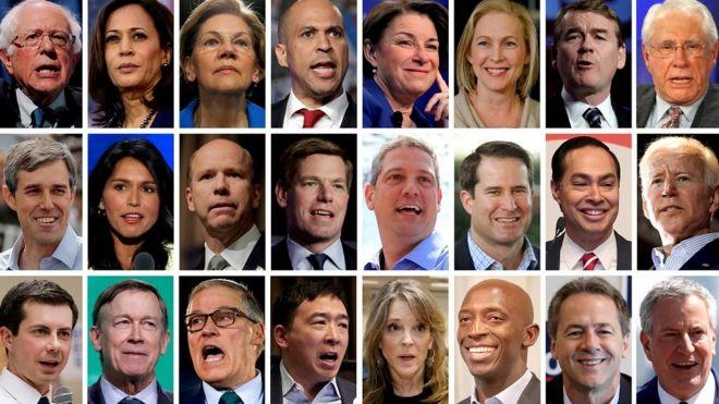 24 кандидата от демократов