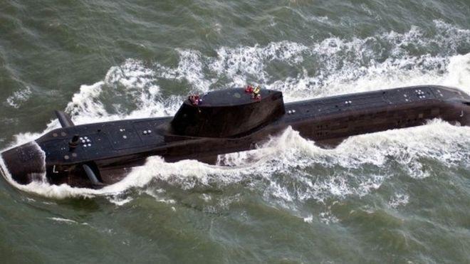 英国皇家海军核潜艇