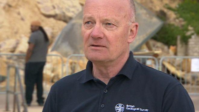 Питер Хоббс из Британской геологической службы