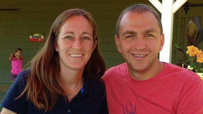 Laura y Brad Barrett