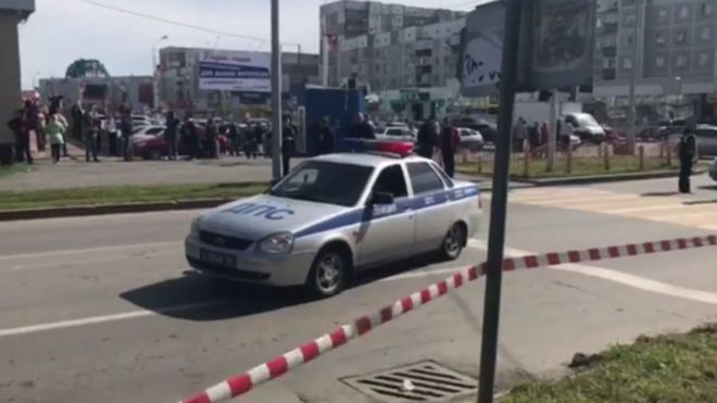 Нападение в Сургуте