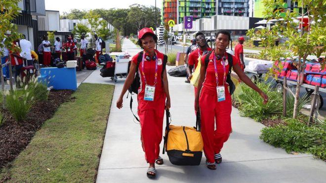 Arrivée de la délégation ghanéenne en Australie.