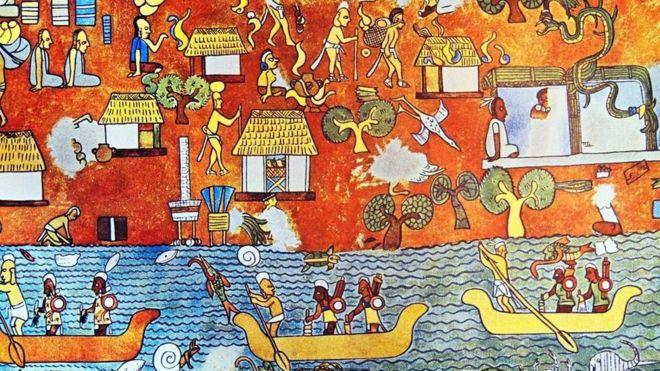 Imagenes De Murales Mayas